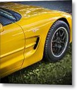 2002 Chevrolet Corvette Z06 Metal Print