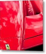 2003 Ferrari Enzo Hood Emblem Metal Print