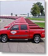 2004 Brickyard 400 Silverado Drive-away Vehicles Metal Print