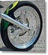 2004 Hell Bound Steel Motorcycle Metal Print