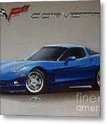 2005 Corvette Metal Print