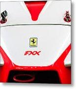 2005 Ferrari Fxx Evoluzione Hood Emblem Metal Print