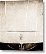 2005 Maserati Mc12 Hood Ornament Metal Print