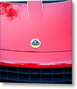 2006 Lotus Grille Emblem -0012c Metal Print