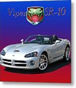 2006 Viper S R 10 Metal Print by Jack Pumphrey