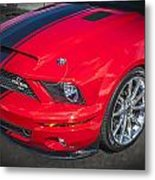 2007 Ford Mustang Shelby Gt500 427  Metal Print