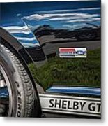 2007 Ford Mustang Shelby Gt500 Painted   Metal Print
