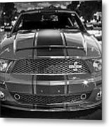 2007 Ford Mustang Shelbygt 500 427 Bw Metal Print