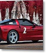 2008 Corvette Metal Print