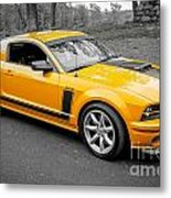 2008 Ford Mustang Rausch Supercharged Metal Print