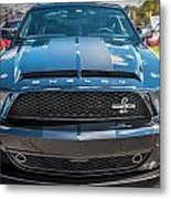 2008 Ford Shelby Mustang Gt500 Kr Painted Metal Print