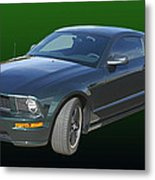 2008 Mustang Bullitt Metal Print