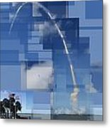 2008 Space Shuttle Launch Metal Print