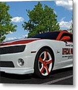 2010 Camaro Indy Pace Car Metal Print