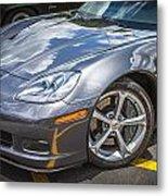 2010 Chevy Corvette Grand Sport Hdr Metal Print