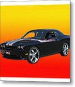 2010 Dodge Challenger Metal Print