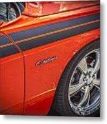 2010 Dodge Challenger Rt Hemi Metal Print