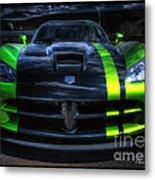 2010 Dodge Viper Acr Metal Print