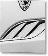 2010 Ferrari California Side Emblem Metal Print