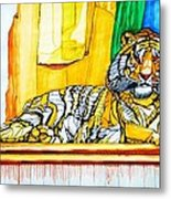 2010 Year Of The Tiger Metal Print