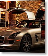 2011 Mercedes-benz Sls Amg Gullwing Metal Print