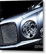 2012 Bentley Mulsanne Metal Print