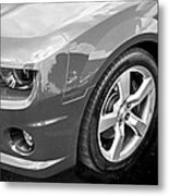 2012 Chevy Camaro Ss Bw Metal Print