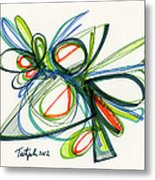 2012 Drawing #35 Metal Print