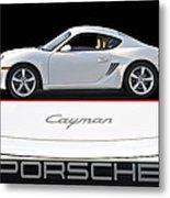 2012 Porsche Cayman R Metal Print