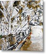 2013 007 Road To The Arlington Memorial Bridge Metal Print