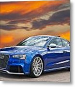 2013 Audi Rs5 Sports Coupe Metal Print