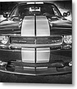 2013 Dodge Challenger Srt Bw Metal Print