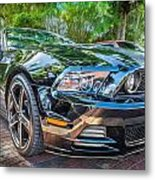 2013 Ford Shelby Mustang Gt 5.0 Convertible Painted   Metal Print