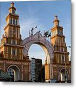 2013 Gateway To Feria De La Seville Metal Print