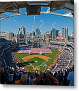 2013 San Diego Padres Home Opener Metal Print by Mark Whitt