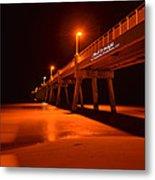 2014 02 06 01 A Okaloosa Island Pier 0195 Metal Print
