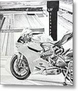 2014 1199 Ducati Panigale Metal Print