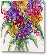 2014 Abstract Drawing #14 Metal Print