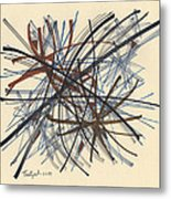2014 Abstract Drawing #8 Metal Print