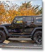 2014 Jeep Wrangler Sport Metal Print