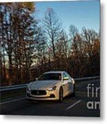 2014 Maserati Ghibli Sq4 Metal Print