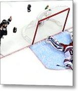 2014 Nhl Stanley Cup Final - Game Five Metal Print