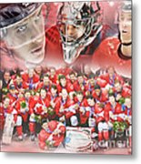 2014 Team Canada Metal Print