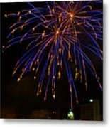 2014 Three Rivers Festival Fireworks Fairmont Wv 1 Metal Print