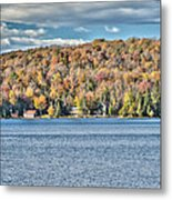 201410020-036d1 Autumn Forest North Shore Hdr1 2x3 Metal Print