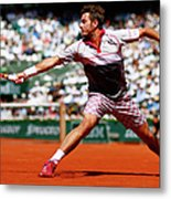 2015 French Open - Day Fifteen Metal Print