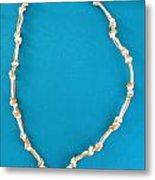 Aphrodite Gamelioi Necklace Metal Print
