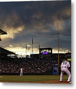 New York Mets V Colorado Rockies 21 Metal Print