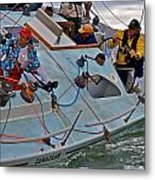 San Francisco Sailing Metal Print