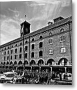 St Katherines Dock London Metal Print